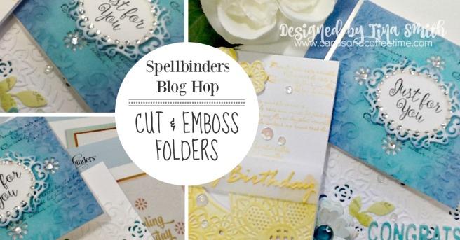 Spellbinders Blog Hop Cover