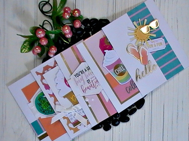 Spellbinders Card Kit of the Month July 2018 032