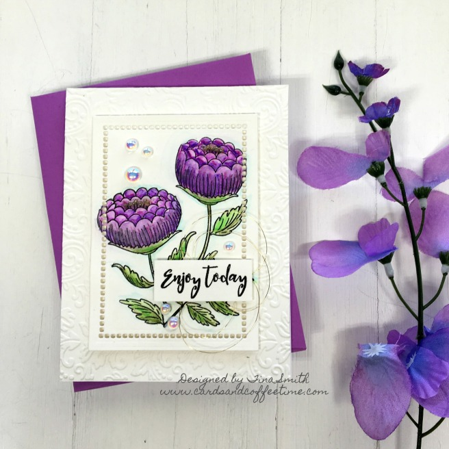 Spellbinders April Stamp of the Month-1