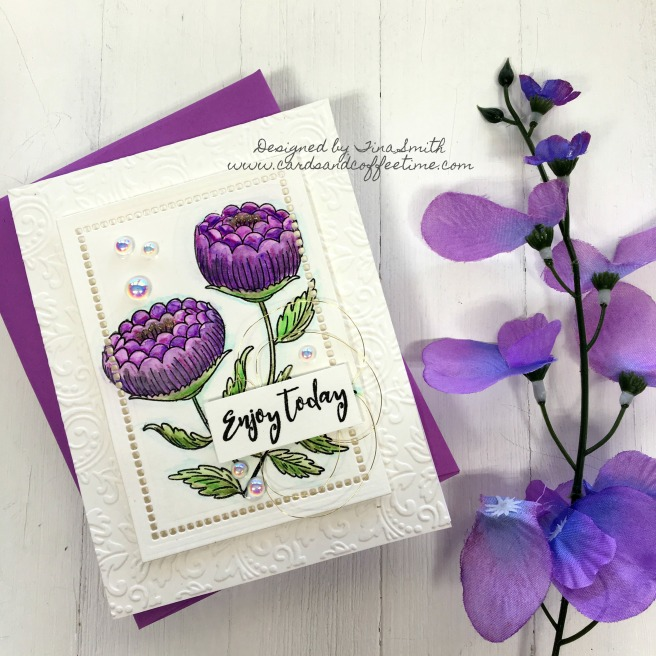 Spellbinders April Stamp of the Month-3