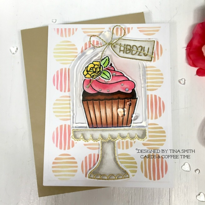 TIOT-HONEY BEE STAMPS - PIECE OF CAKE - 1