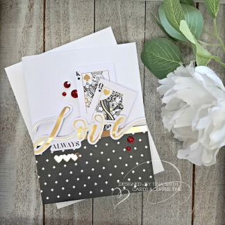 10 Cards - 1 Kit Tutorial by Tina Smith - Spellbinders Card Kit of the Month Club Kit Jan 2020 #Spellbinders #SpellbindersClubKits #CardsandCoffeeTime