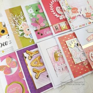10 Cards - 1 Kit Spellbinders Card Kit