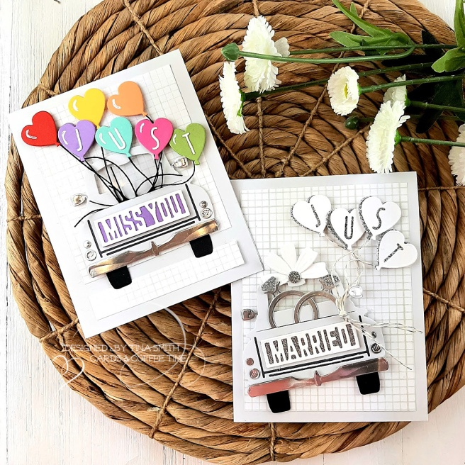 Card Tutorial by Tina Smith with the Spellbinders Small Die of the Month Club Kit for April 2020