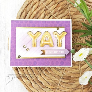10 Cards -1 Kit by Tina Smith with the Spellbinders Card Kit of the Month for Apr 2020 - Weekend Fun 6