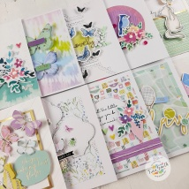 10 Cards - 1 Kit Spellbinders Card Kit of the Month May 2020